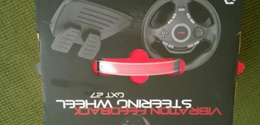 Trust gtx27 volante gaming pc&ps3 usb