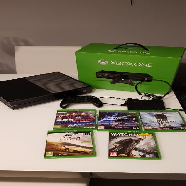 Xbox one 1 tb + 2 tbs