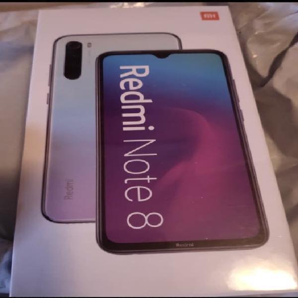 Xiaomi note 8 4gb y 64gb. blanco nuevo