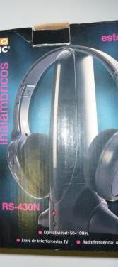 Auriculares inalámbricos pro basic rs-430n