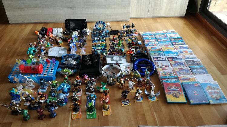 Consola wii u y muchos accesorios