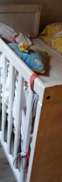 Cuna bebe colchon 2 conjuntos sabanas y protector