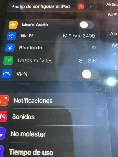 Ipad 2 air 128gb + sim