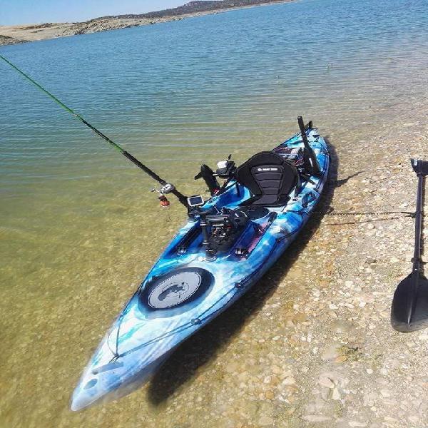 Kayak alboran y sonda lowrance
