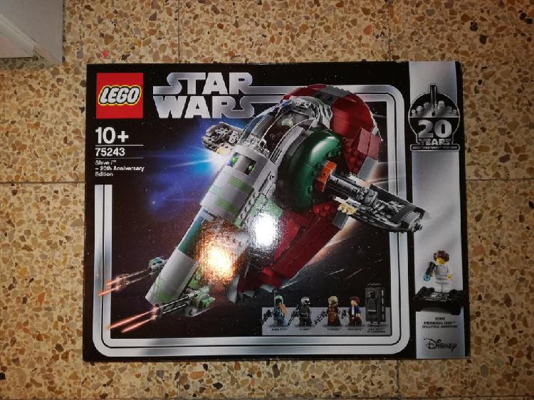 Lego star wars 75243 slave 1 edición 20 aniversa
