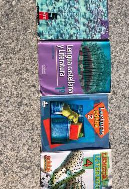 Libros de primaria y secundaria