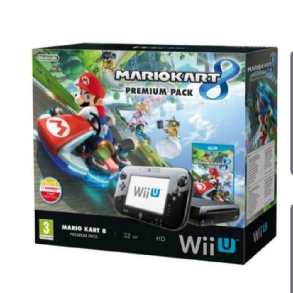 Nintendo wii u + 3 juegos