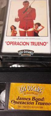 Operacion trueno 007 - version vhs - 1965