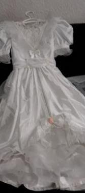 Vestido de princesa niña