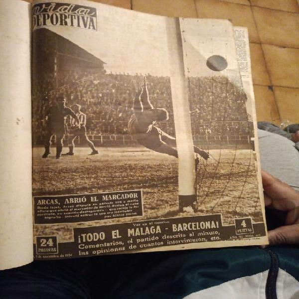 Vida deportiva 1954