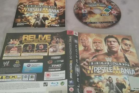 Wwe legends of wrestlemania ps3 play 3