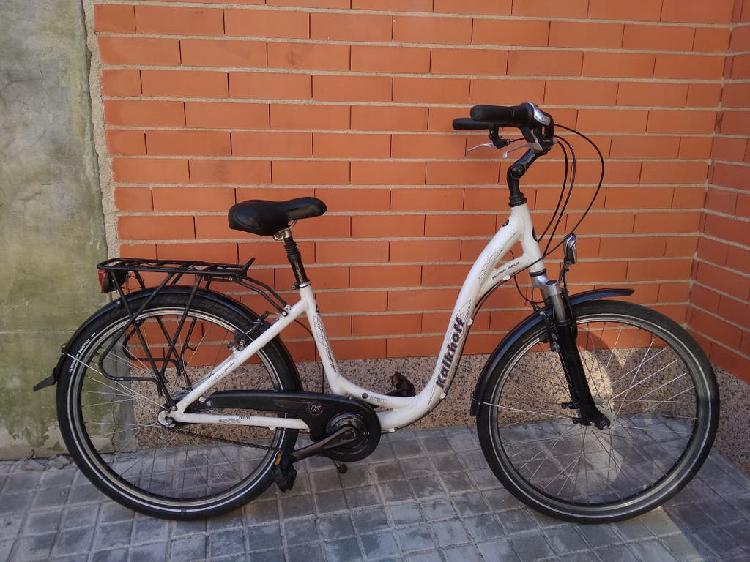 Bicicleta paseo kalkhoff