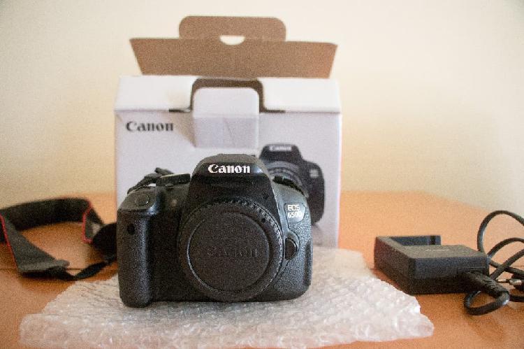 Canon eos 650d + 18-55mm + canon 50mm 1.8