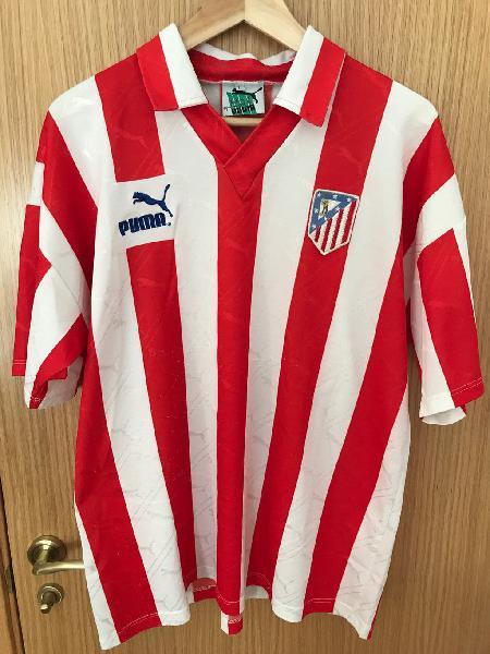 Camiseta atlético de madrid 91/92