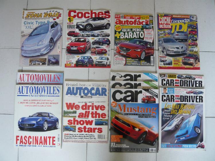 Car and driver número 1 + 11 revistas
