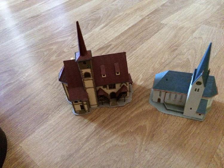 Catedral escala n, maqueta tren