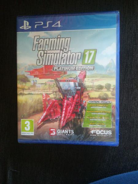 Farming simulator ps4 nuevo precintado