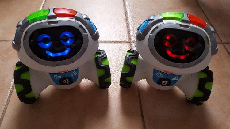 Fisher price robot moví para niños