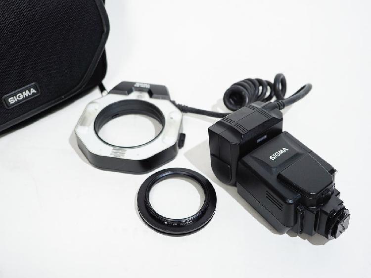 Flash anular sigma em-140 dg macro para cámara slr