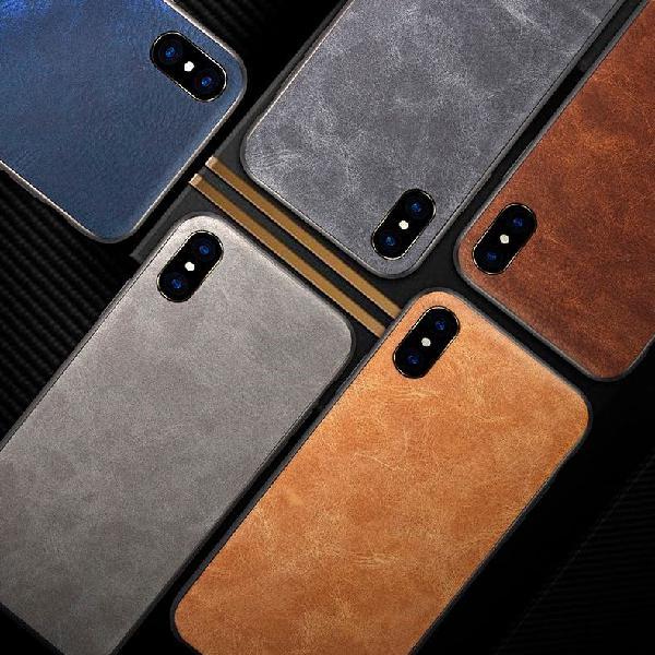 Funda premium para iphone cuero