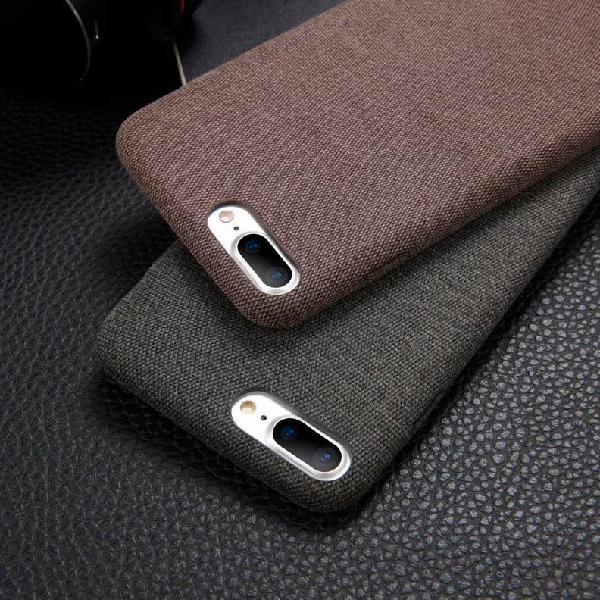 Funda premium para iphone fabric antideslizante