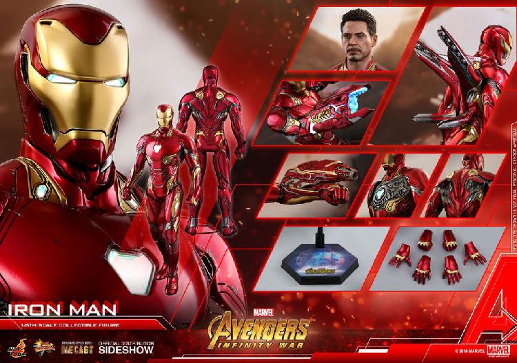 Hot toys ironman iron-man mk50 infinity war nueva