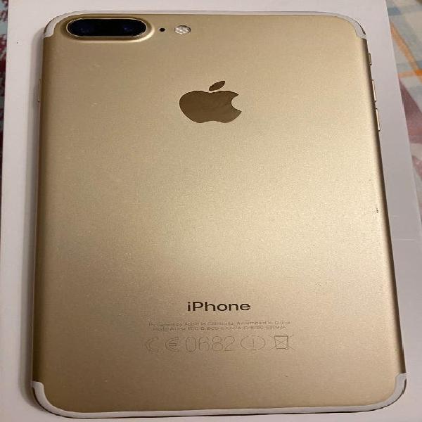 Iphone 7 plus 128 gb color oro .