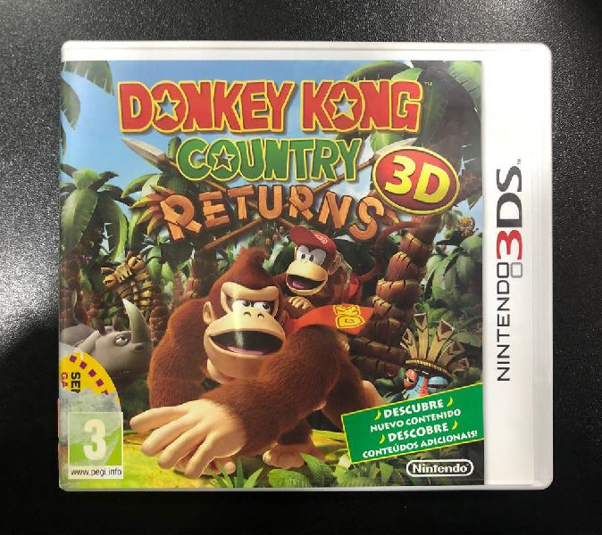 Juego donkey kong country returns (3ds)