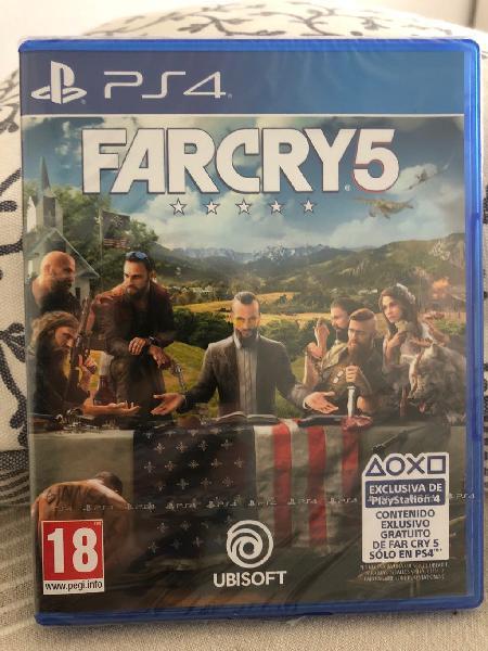 Juego farcry5 nuevo precintado. ps4