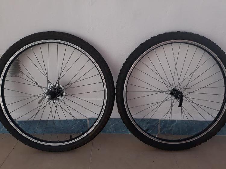 Juego ruedas mountain bike