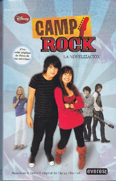 Libro. camp rock.