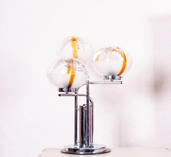 Lámpara de sobremesa de cristal de murano