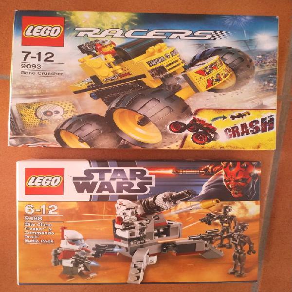 Lote 2 cajas lego nuevas