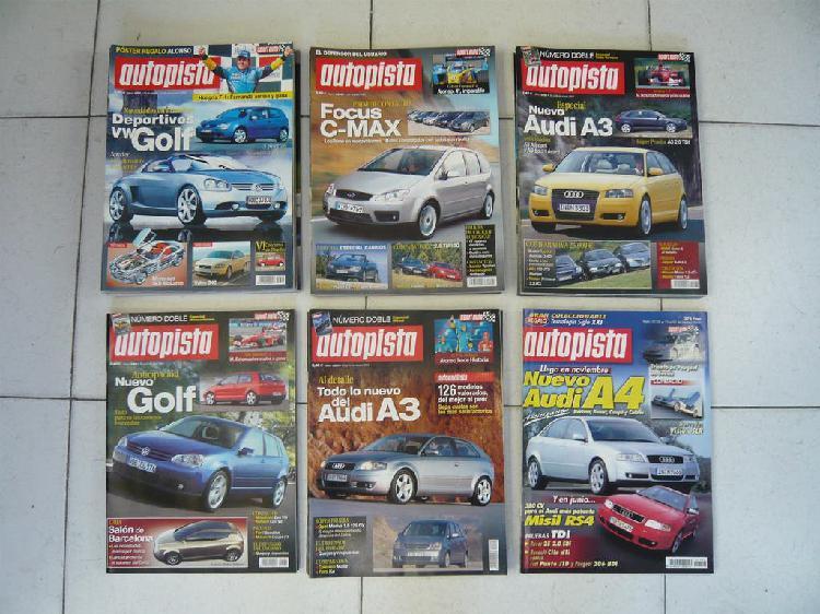 Lote 20 revistas autopista