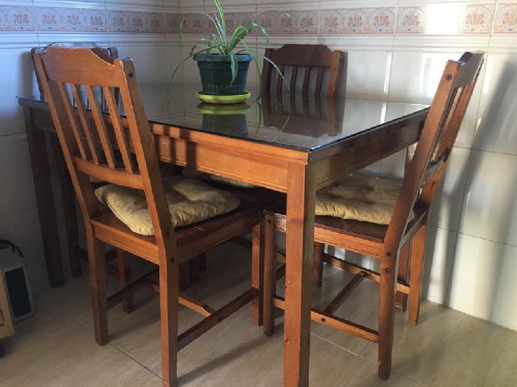 Mesa y 4 sillas de cocina. ikea. mesa cocina. en España ...