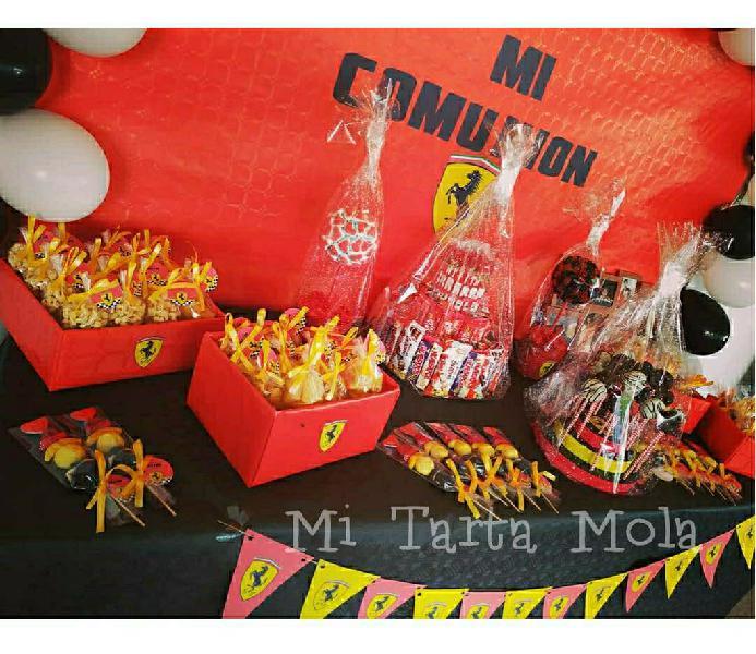 Mesas dulces comuniones 2020