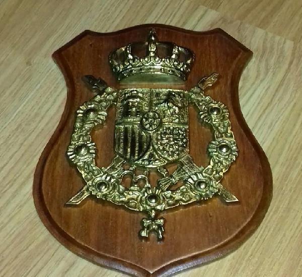 Metopa escudo monarquía juan carlos i