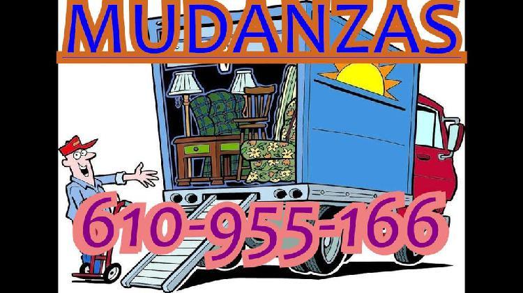 Mudanzas, transportes y traslados express 24/07