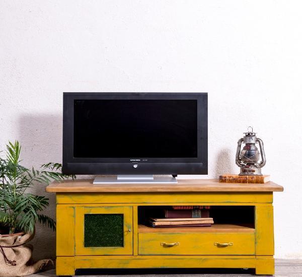 Mueble aparador televisión recuperado leonard