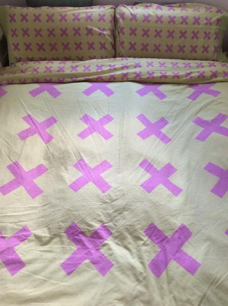 Nórdico de plumas para cama individual con funda