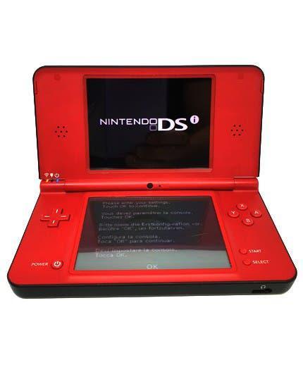 Nintendo dsi xl roja