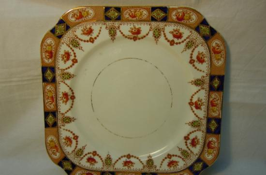 Plato de porcelana inglesa colclough (longton) hacia 1930
