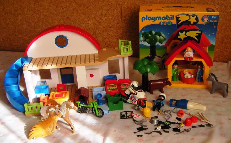 Playmobil gran lote según fotos y detalle