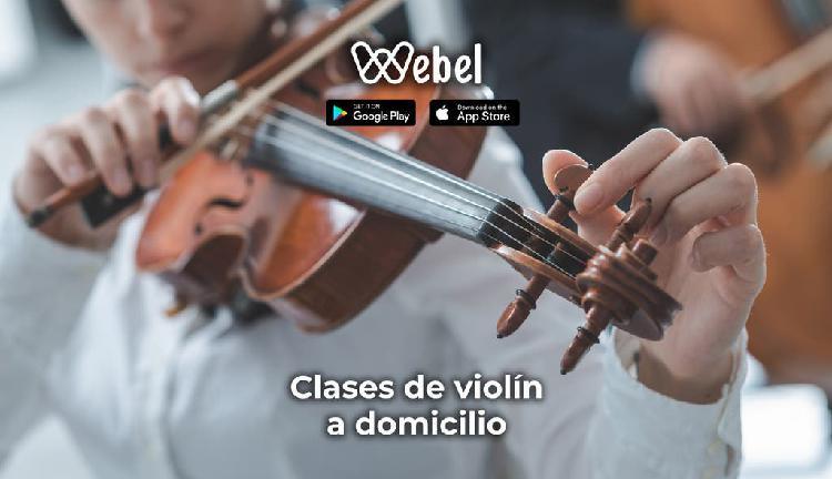 Profesor de violín a domicilio