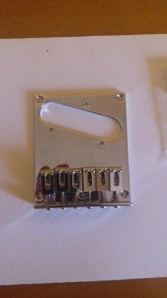 Puente para guitarra telecaster nuevo 6 silletas