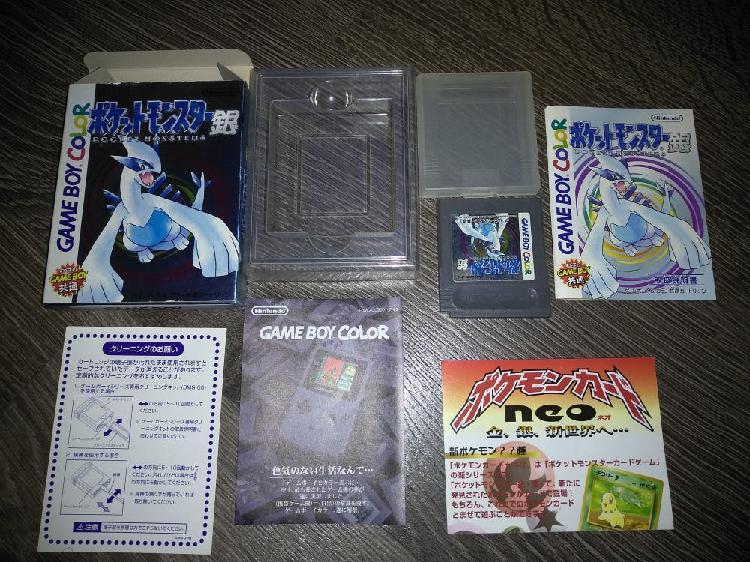 Pokemon silver gameboy color