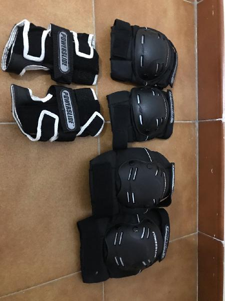 Protecciones adultos patines powerslide