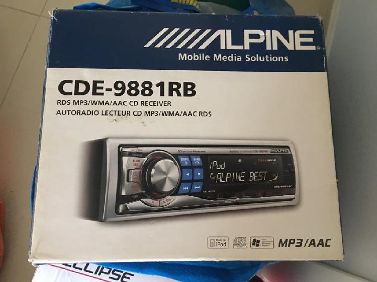 Radio cd mp3 alpine