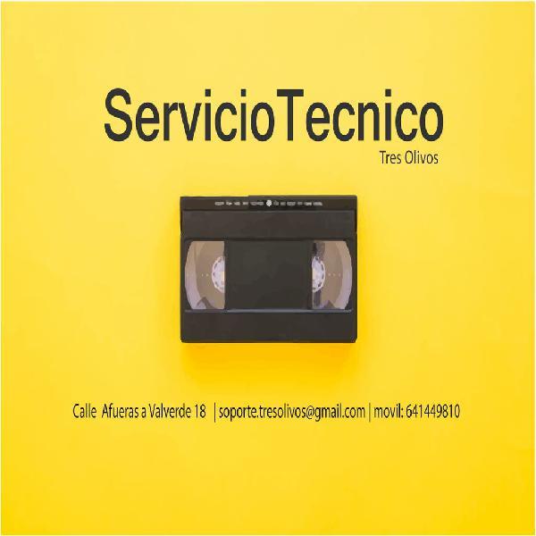 Servicio de digitalización - cintas cassettes
