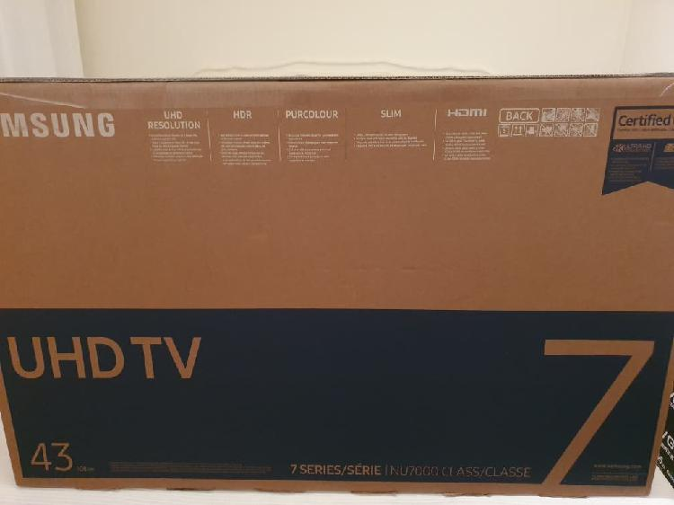 "Tv samsung ue43nu7025k 43"" 4k ultra hd smart tv"